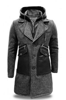 Mantel pardo Black